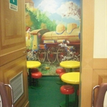 Mcdonalds kids eating room!