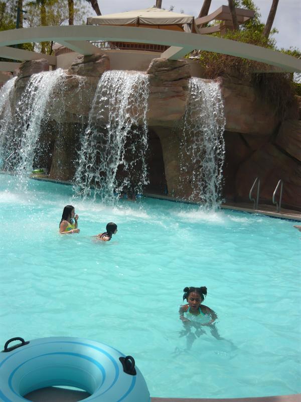 pool at MGM Grand
