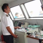 旅游船驾驶室