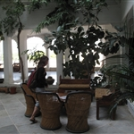 Reception area of Karohi Haveli