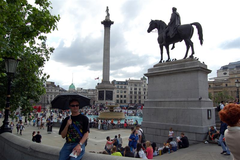 Trafalgar Square: London