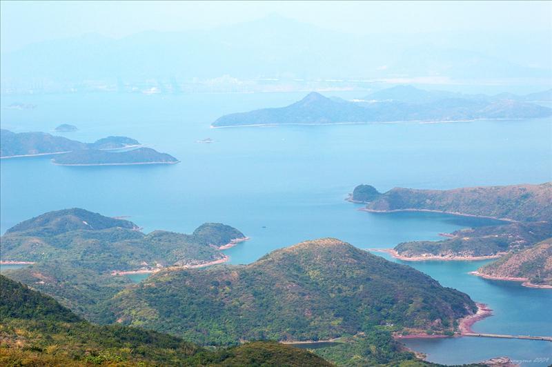 Yan Chau Tong Marine Parks  印洲塘海岸公園