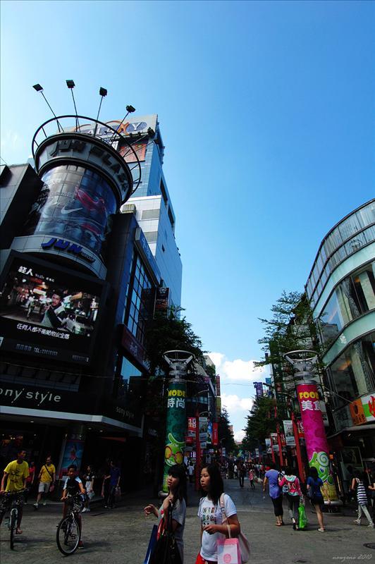 峨嵋街徒步區 Emei Street