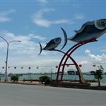 這裡是屏東東港,要從這裡搭船去小琉球兒。
