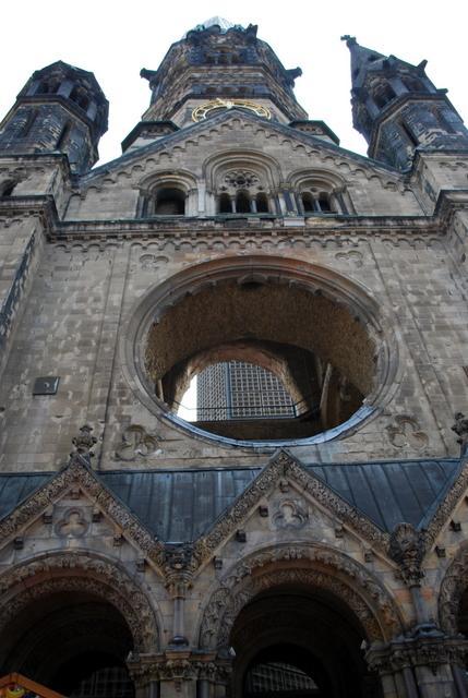 Kaiser Wilhelm Church - what's left of it