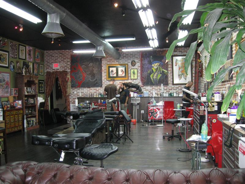 Inside Miami Ink ;)