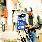 Photographer at Nanjing west road