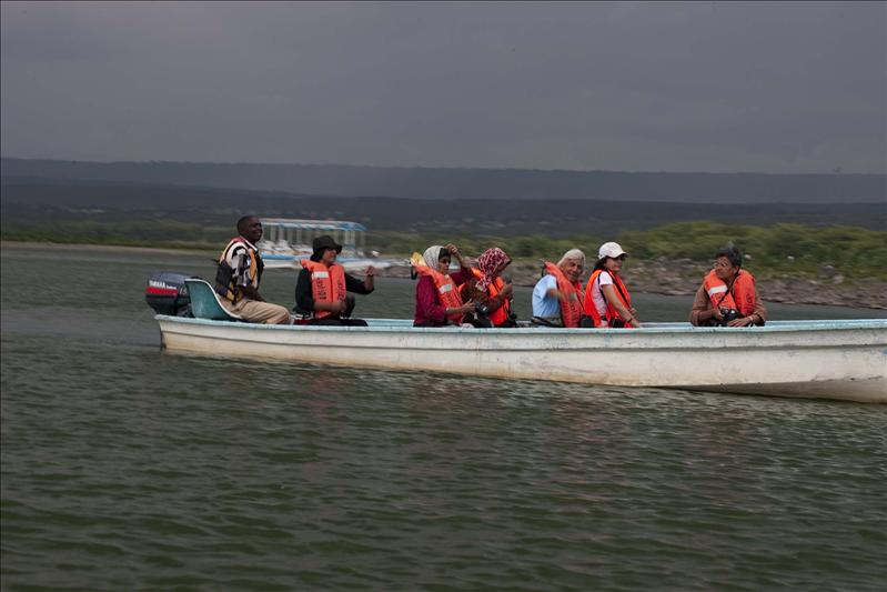 On Lake Naivasha