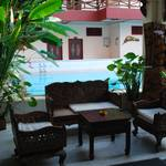 Guest house I stayed in....with a swimming pool, £5 a night...heavenly! :-)