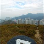 玉桂山 (196m) 山頂 Yuk Kwai Shan