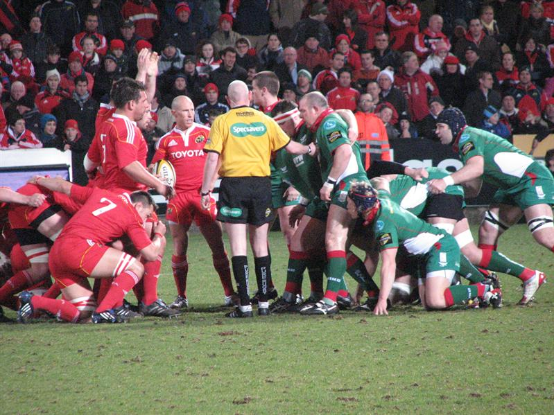 Getting ready for a scrum
