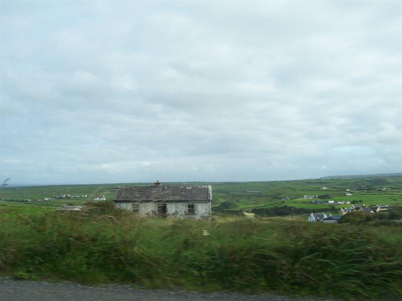 From the road in County Galway.