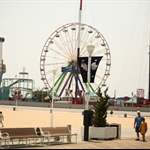 amusement park in Beach of Ocean city