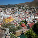 Guanajuato from Casa Bertha Hostel