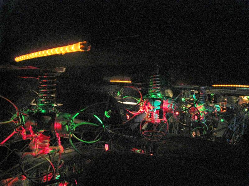Crazy bar lights...