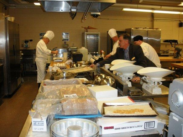 Hospitality students.......WOW compare this to room G90 at Seneca!!!!!!!!!!