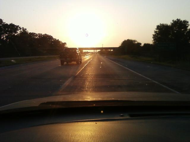 west on I-255 headed for saint louis