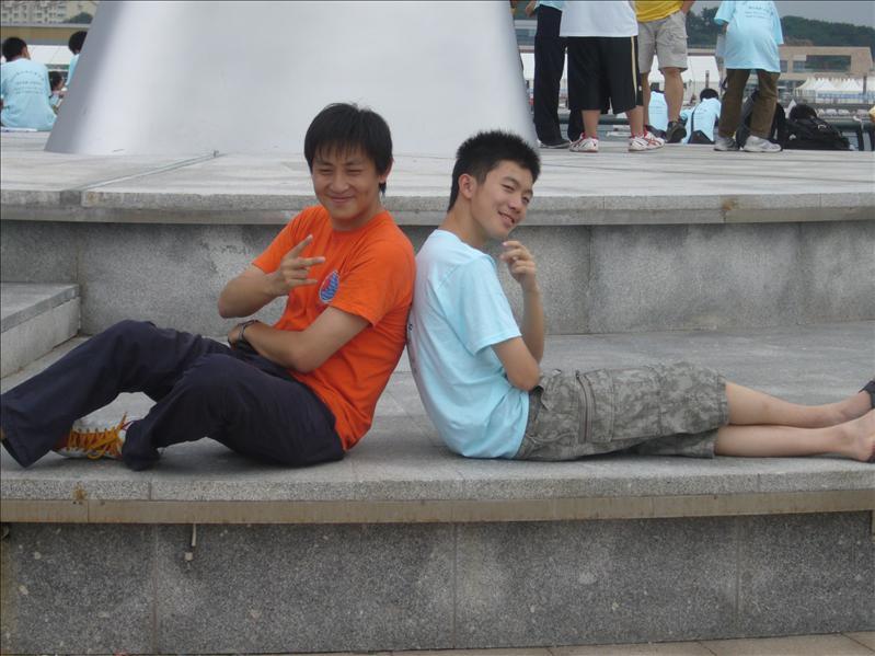 上海導師和團員無聊之作2 @ 青島奧帆中心