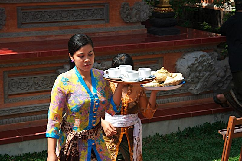 The beautiful staff at The Palace