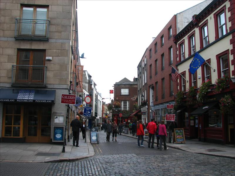 The Temple bar (which is an area and not a single pub) is also among the things to see in Dublin