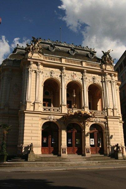 The Town Theatre of Karlovy Vary