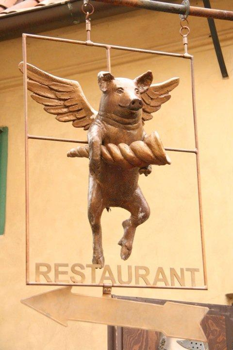 Food so good that Pigs can Fly?