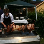 Hog Roast and Summer Party 2010