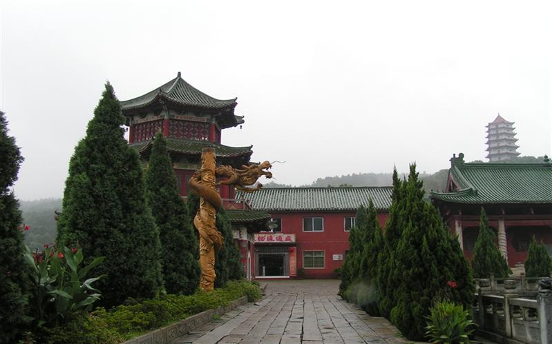 东林寺,(DongLin Temple), JiuJiang, JiangXi, Chinahina