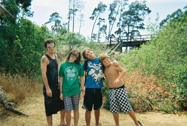 Spence,me,August and Josh at beach
