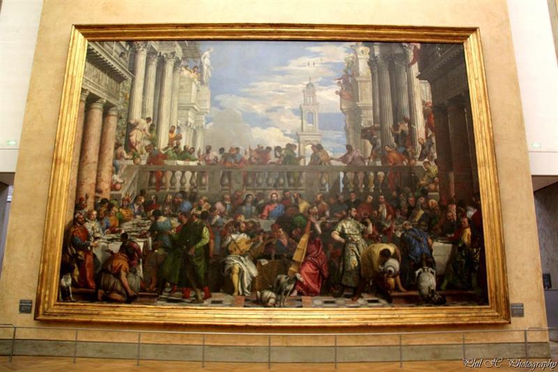 Louvre (Veronese, Wedding of Kanaan)