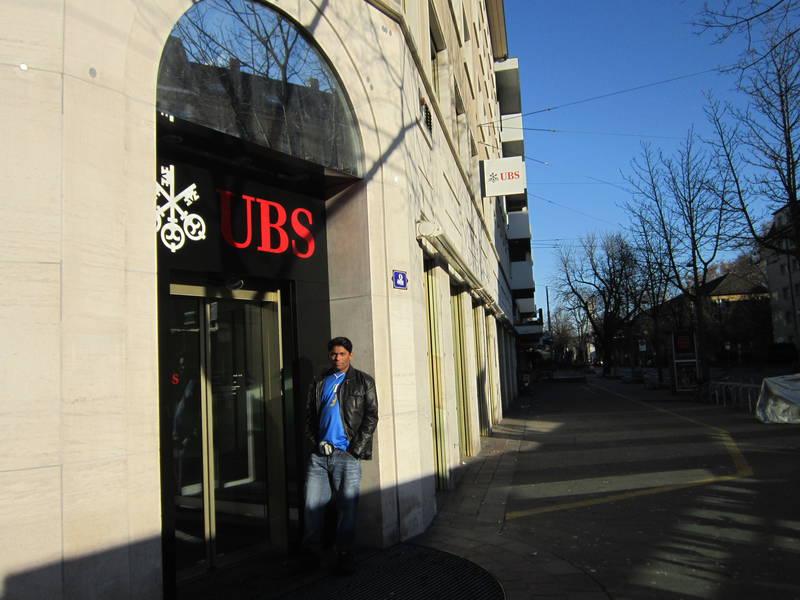 Sussie bank. Zurich