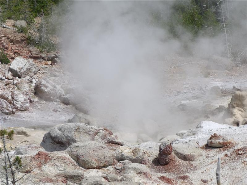 I really did get tired of the smell of sulfur!