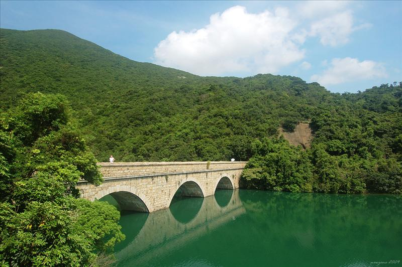 English Style Stone Bridge of Tai Tam Tuk Reservoir 大潭篤水塘英式石橋