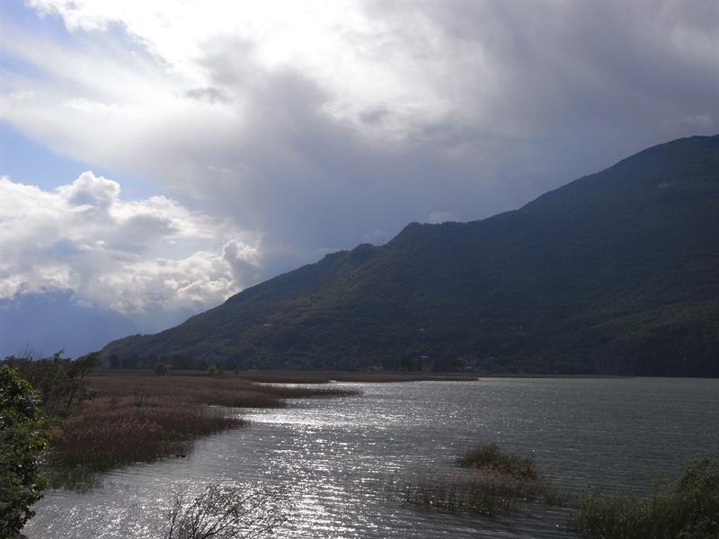 Mezzola lake