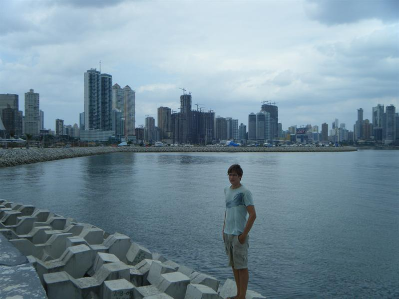the other part of panama city, high rises everywhere