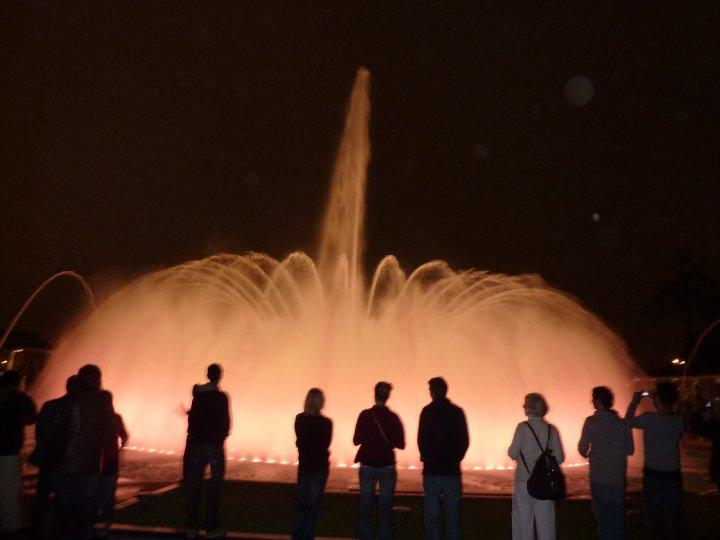 fountain display in lima