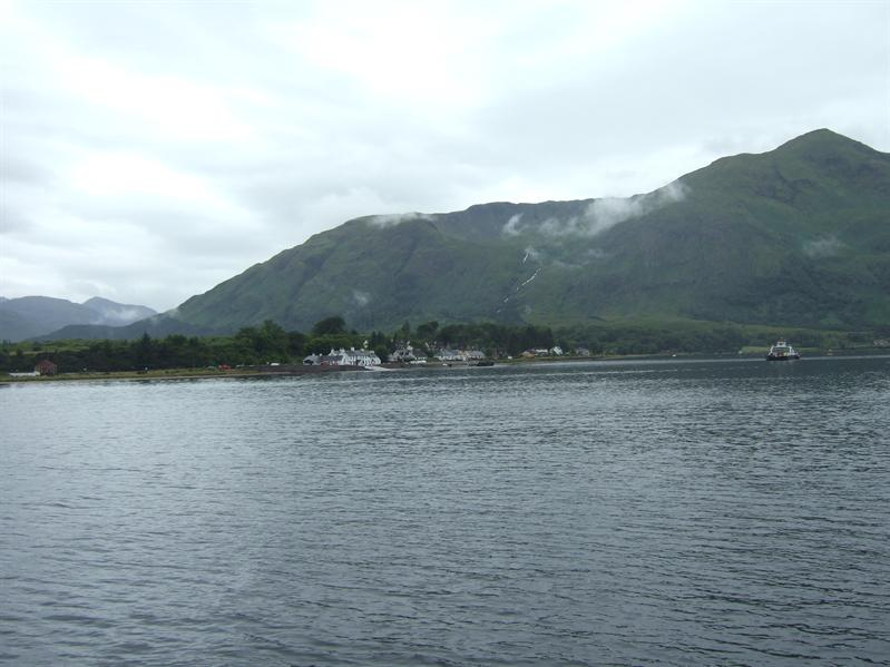 From the Corran Ferry