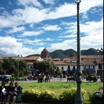 The lovely town of Cusco - where I met Keiran and went to see Machu Picchu...