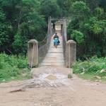 starting at this bridge...