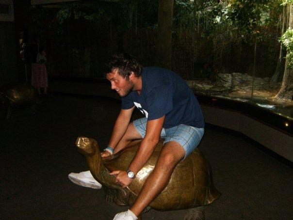 Me Riding A Turtle