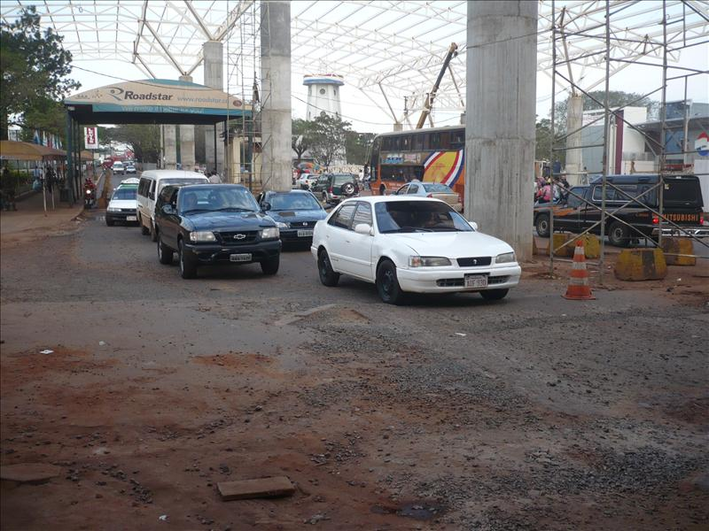 Grenzübergang - a határ