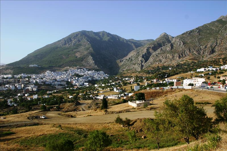 North Horn of Chefchaouen Mountains