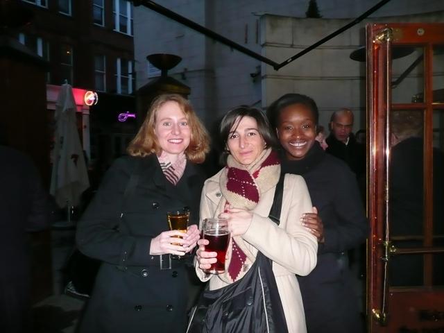 Garance, Alessia and Anan