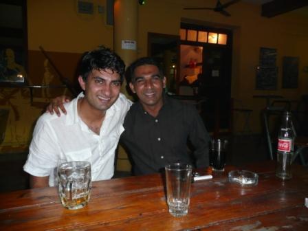Ghafoor and his friend