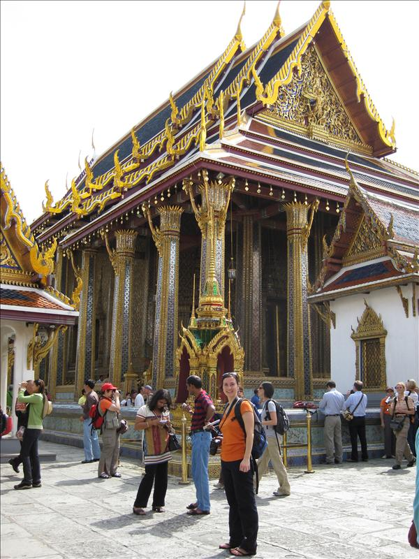 Most sacred place in Thai Buddhism - home to the Emerald Buddha