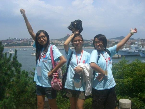 Tiffany, Cherry and Jessica @ 小青島