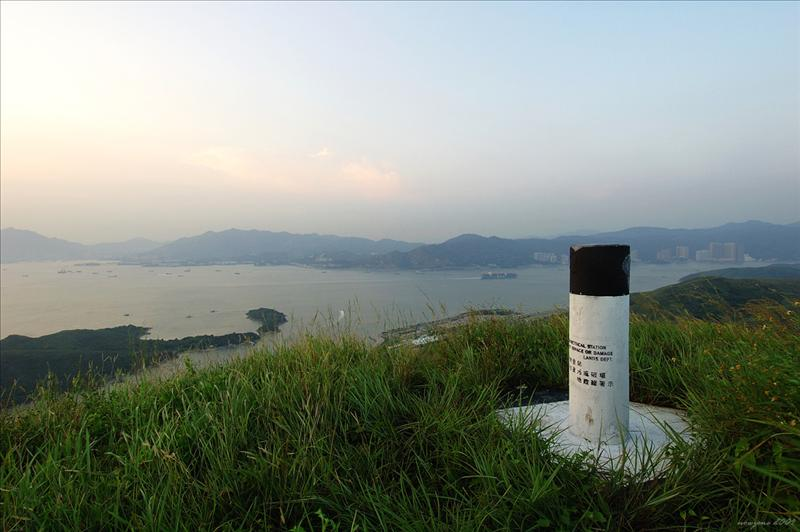 Tai Shan大山測量墩291m