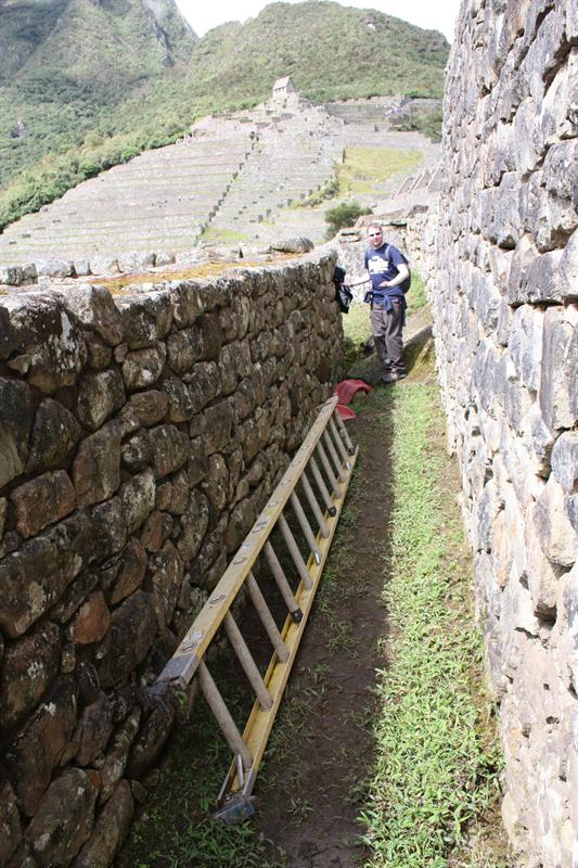 A traditional Inca Ladder... FACT
