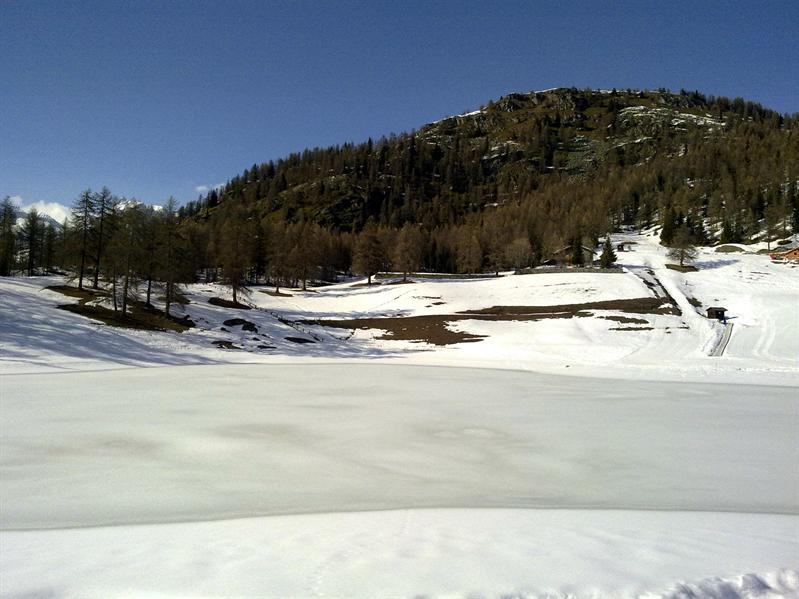 Lac du Lag, iced