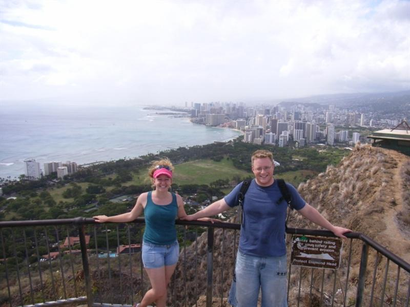 We survived 10,000 tourists climbing diamond head